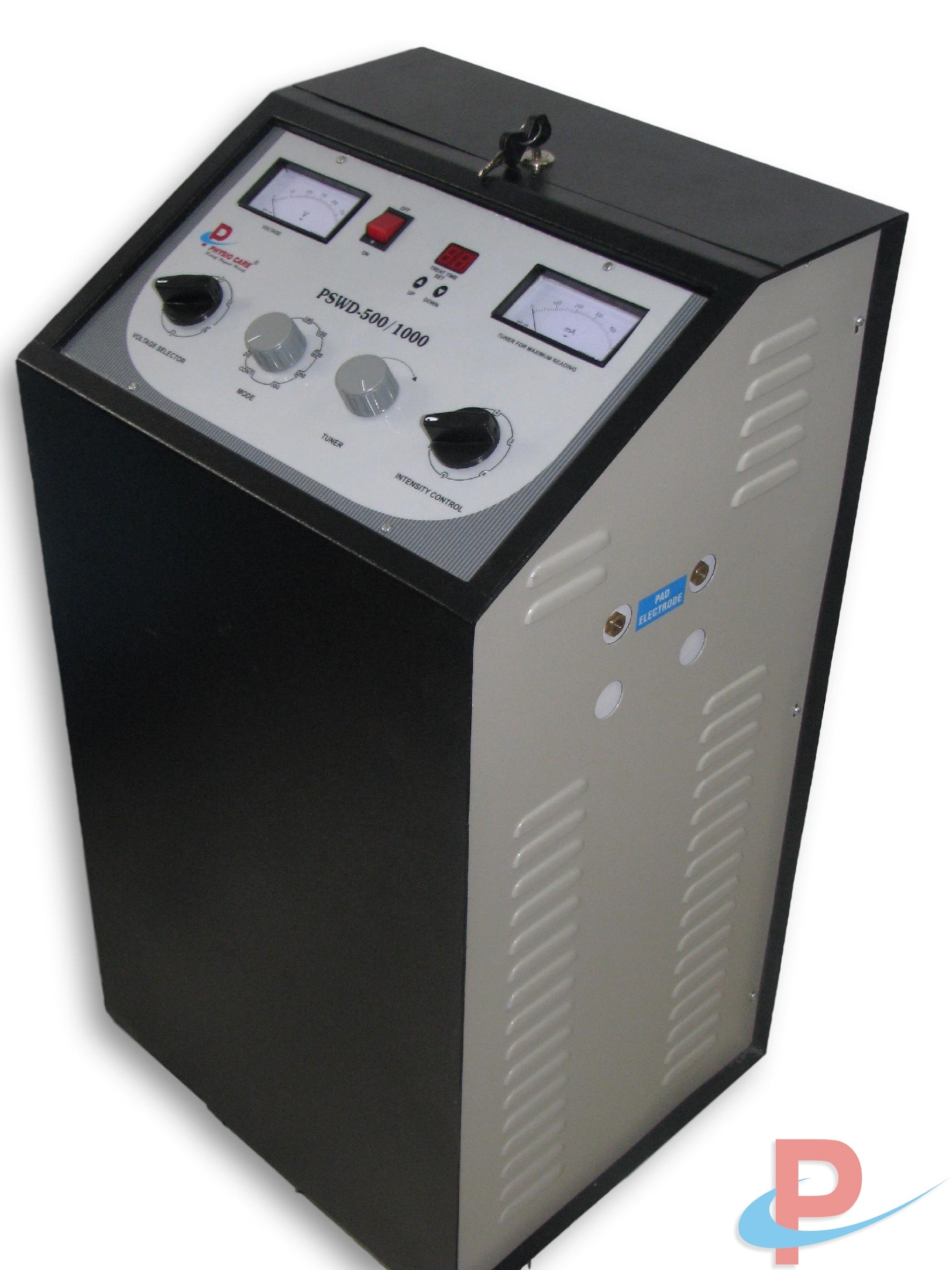 Pulsed Short Wave Diathermy Metal Model