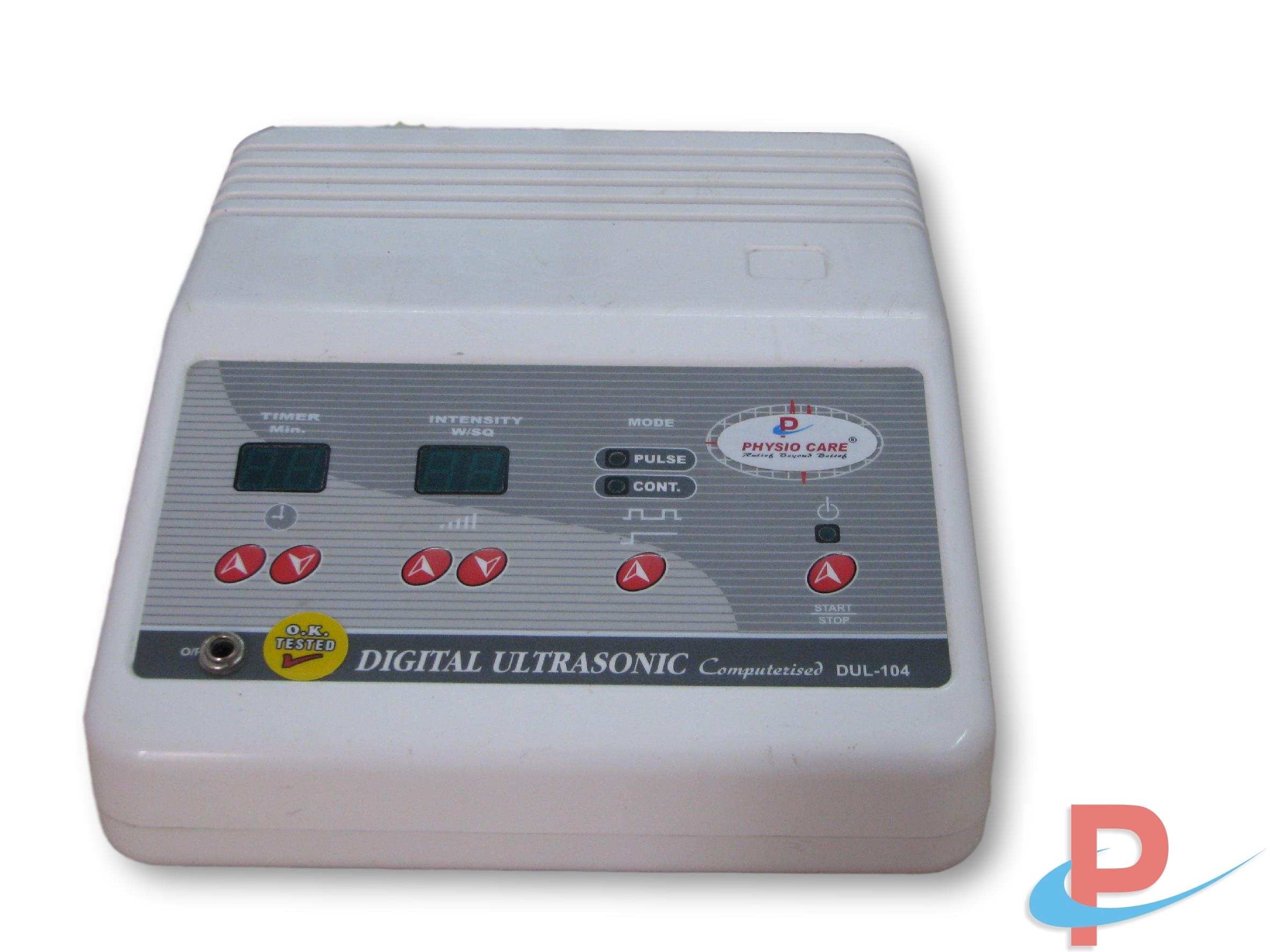 Ultrasonic Therapy Digital Pulse
